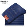 Мужская одежда Bosideng (BOSIDENGMAN) мужская тонкая секция случайных джинсов весеннего и летнего тонкого сечения Тонкие брюки из ковбоя 3271B64021 синий 40 (три фута три)