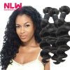 Malaysian Loose Wave Natural Virgin Hair Full 8A Unprocessed Free Shipping NLW Products Top Sale 3 bundles for Black Girl Cheap free shipping 7a ms lula hair products 4pcs lot natural wave unprocessed weaving human hair weft brazillian virgin hair