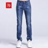 Бао Ло Фади BAOLUOFADI стрейч джинсы мужские ноги Тонкие прямые случайные брюки синий 32 187 116 205 джинсы camomilla ilove джинсы стрейч