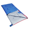 Красный лагерь спальный мешок открытый утолщение спальный мешок закрытый взрослый спальный мешок обед каждый грязный синий полиестер 1.8кг спальный мешок atemi a 1