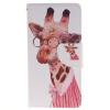 Жираф дизайн Кожа PU откидная крышка бумажника карты держатель чехол для HUAWEI P8 Lite велосипед и одуванчика дизайн кожа pu откидная крышка бумажника карты держатель чехол для huawei p8 lite