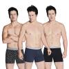 BXMAN мужские плавки с чистым цветом средняя поясница поясница без боли уникальный изометрический тренинг