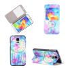 Розовый Dreamcatcher Дизайн Кожа PU откидной крышки Кошелек для карты памяти чехол для Samsung Galaxy S5 promate akton s5 чехол накладка для samsung galaxy s5 black