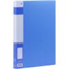 Прибыль (KINARY) AF602 A4 одного кармана папки с мощным синим dataline 4 кармана