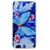 Голубая бабочка шаблон Мягкий чехол тонкий ТПУ резиновый силиконовый гель чехол для Lenovo Vibe K5/A6020 мобильный телефон lenovo k920 vibe z2 pro 4g