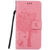 Pink Tree Design PU кожа флип крышку кошелек карты держатель чехол для SONY M5 pink tree design pu кожа флип крышку кошелек карты держатель чехол для samsung c5