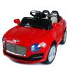 Qunxing округлились четверо детей могут ездить электрический спортивный автомобиль с свингом медленного старта дистанционного прогулочного красного жемчуг QX-7833