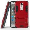 Красный Slim Robot Armor Kickstand Ударопрочный жесткий корпус из прочной резины для ZTE AXON 7 Mini смартфон zte axon 7 mini gold мetallic