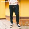 Вэй Xiu viishow случайные брюки мужские drawstring галстук мужские спортивные брюки маленькие ноги брюки прилива KC11641721 темно-синий XXL