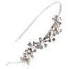 Royal Сальса (Royalsasa) головной убор ювелирных изделий обруча оголовье шпилька кристалл сплава серебра