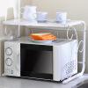 溢彩年华伸缩厨房微波炉架落地置物架宿舍单层书架YCI7005