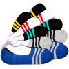 [Мужские носки Бейджи Ронг Jingdong супермаркет] M носки летних спортивных носков полосы дышащих тонкие секции M носки мелкого рта невидимые носки 10 пара Размер носки kross prs tall размер m черный t4cod000275mbk