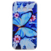 Голубая бабочка шаблон Мягкий чехол тонкий ТПУ резиновый силиконовый гель чехол для Samsung Galaxy Grand Prime G530