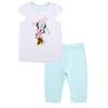Disney Baby Disney Baby детей с короткими рукавами костюм брюки пиджак брюки костюм DA722BE10W0190 из этого белый 90 ярдов