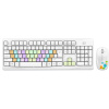Fuld G9100S Красочные беспроводная клавиатура и мышь набор ноутбук настольный офисный пакет игры