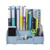Longxing (Glosen) D9121 DIY ручной колонки деревянный многофункциональный четверной файл файл / коробка / стеллаж данные цвет древесины