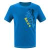 8264 спортивная футболка с набивкой круглый воротник быстросохнущая одежда