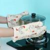 Высокотемпературные защитные перчатки Микроволновые печные перчатки кухонные перчатки изоляционные жаропрочные перчатки петух DQST02 современные микроволновые печи 118