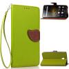 Зеленый дизайн Кожа PU откидная крышка бумажника карты держатель чехол для Lenovo Vibe P1 мобильный телефон lenovo k920 vibe z2 pro 4g