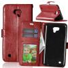 Браун Стиль Классический Флип Обложка с функцией подставки и слот для кредитных карт для LG X Cam K580Y браун стиль классический флип обложка с функцией подставки и слот для кредитных карт для lg k8