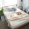 [Супермаркет] Антарктического Jingdong текстильных ватных одеяла кондиционер одеяла одеяла хлопок ворс сотового макияж серого 200 * 230cm