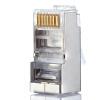 AMPCOM (AMCOM) AMCAT6B50030 экранированная головка кристалла чистая медь шесть кабельных разъемов инженерная RJ45 позолоченный 8P8C сетевой разъем 30 / сумка