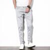 Джинсы (TUCANO) Мужские спортивные штаны Тонкие брюки-штаны для брюк с застежкой-молнией 17088ZM18 серый 2XL