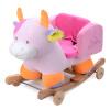 Синего замок ребенок двойной качалка лошадь лошадка качалка лошадь квадрат корова возраст подарок на день рождения для детей счастливое детство качалка квадрат
