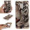Обложка Белый тигр шаблон Мягкий тонкий ТПУ резиновый силиконовый гель чехол для ZTE Blade V7 Lite skinbox флип кейс zte blade x5
