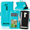 BlueStyle Classic Flip Cover с функцией подставки и слотом для кредитных карт для Asus Zenfone Go ZB452KG
