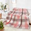 Jiuzhou оленей бархат одеяла текстильного мягкого перо одеяло ворс одеяло одеяло четыре сезона случайного цвета дивана пледы блог 180 * 200см
