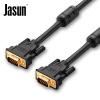 (JASUN) vga3+6 кабель проектора соединительная линия чёрный кабос f001 503 vga соединительная линия удлинитель кабеля дата кабель 3 4vga