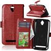 Браун Стиль Классический Флип Обложка с функцией подставки и слот для кредитных карт для Asus Zenfone Go ZC451TG флип кейс aksberry для asus zenfone go zc451tg белый