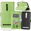 Зеленая классическая флип-обложка с функцией подставки и слотом для кредитных карт для Asus Zenfone 3 ZS550ML зеленая классическая флип обложка с функцией подставки и слотом для кредитных карт для asus zenfone 3 zs550ml