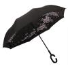 7103 двойной зонтик PARKSON громкой автомобиль обратный зонтика двойного зонтик зонтик мужчина с длинной ручкой большого зонтика сложенных газет двойного барометром parkson моды полосатого зонтик бизнеса