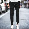 lucassa Случайные брюки Мужские повседневные штаны Брюки Хелен Брюки Прямоугольные брюки Мужские A030-K17 Черный XL