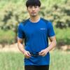 Следопыт (TOREAD) Открытых рукава футболка мужчин дышащее затекание абсорбента функция быстрой сушки упражнение футболка KAJF81316 черный / темно-серый L футболка catimini футболка