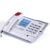 Китайско-австрийский (CHINO-E) G025 с картой 4G / SD-картой может быть расширен / цифровая запись телефонная база офисная станция / домашний стационарный телефон / стационарный телефон стационарный жемчужно-белый