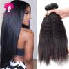 Amazing Star Hair Yaki Straight 3 Bundles Индийские девичьи волосы Кудрявые прямые волосы Уин Индийские волосы Virgin Double Уток Дешевая цена ariete yaki grill 798