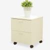 Middlese прикроватные тумбочки Ivan с дверцей съемный ящик шкаф маленькая квартира простой шкаф для хранения белый