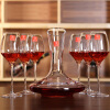 [Руководство] Jingdong супермаркет домой искусственное выдува бокалов вина с хрустальными бокалами Набором 6 1 1 графины подарка чашка кусторезы закупоренных вина
