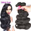 7A Mink Peruvian Virgin Hair Body Wave 4 Bundles, Unprocessed Human Hair Weave Peruvian Body Wave peruvian virgin 130 density body wave