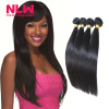 Natural Color N.L.W Products Cheap 8A Top quality Peruvian Vrigin Human Straight Hair Weaves 4 Bundles Mix for Black Women Thick top quality mix color long natural wave