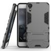 Серый Slim Robot Armor Kickstand Ударопрочный жесткий корпус из прочной резины для HTC Desire 10 серый slim robot armor kickstand ударопрочный жесткий корпус из прочной резины для zte axon 7