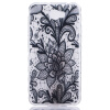 Black Rose Pattern Мягкий тонкий ТПУ Резиновая крышка силиконовый гель чехол для HUAWEI Y5 II смартфоны huawei y5 2017 grey