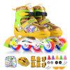 [Супермаркет] Jingdong Snoopy Snoopy полный флеш костюм детей коньки роликовые коньки роликовые коньки Rose S код ET667 роликовые коньки для детей gao xin w9006