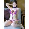 Девять цветов жизни (JiuSeShenghuo) прозрачный кружевной сексуальное женское белье грудь мешок костюм бикини три-фиолетовый Temptation набор для массажа shunga melon mango