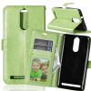 Зеленая классическая флип-обложка с функцией подставки и слотом для кредитных карт для Lenovo K5 Note клип кейс gresso air для lenovo vibe k5 k5 plus a6020 серый