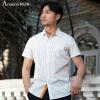 ASHIDUN  мужская рубашка стройнная деловая повседневная рубашка