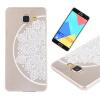 Цветок полукруга Pattern Мягкая тонкая резиновая оболочка из силиконового геля TPU для Samsung Galaxy A7 2016/A710